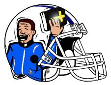 "New Fantasy Football logo created for Team:  ""Bible Thumpers"". …"