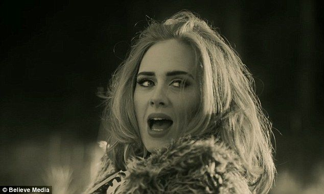 Chart topper: Adele's last album, 25, finished as the highest selling album in Australia in 2015 - despite only being in the charts for six weeks