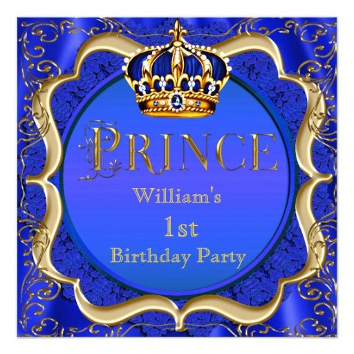 First Birthday Boy Boy Birthday Crown Boy Birthday: 1788 Best Baby Boy 1st Birthday Party Invitations Images