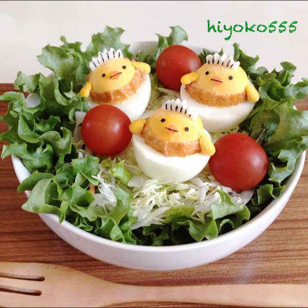 chick egg salad