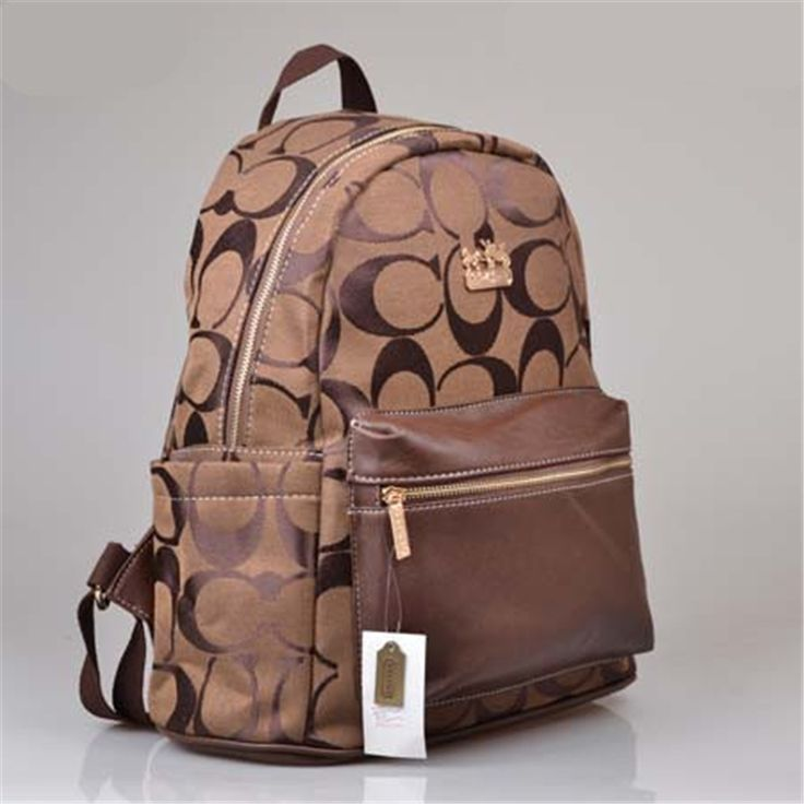 2017 new Coach Coffee Backpack on sale online, save up to 90% off hunting for limited offer, no tax and free shipping.#handbags #design #totebag #fashionbag #shoppingbag #womenbag #womensfashion #luxurydesign #luxurybag #coach #handbagsale #coachhandbags #totebag #coachbag