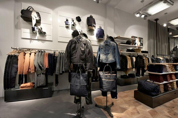 G-Star Women store, Amsterdam » Retail Design Blog