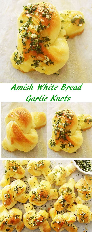 Amish White Bread Garlic Knots: Award winning!