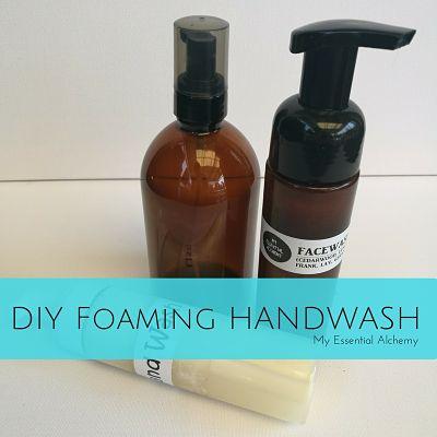 DIY Foaming Handwash