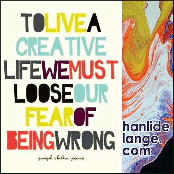 Live creative... #art #artist #abstract #hanlidelange #abstractlandscape #creative #fear #picasso #creativity