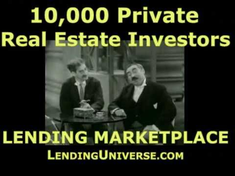 Http://www.lendinguniverse.com Find Private Real Estate Investors And  Lenders