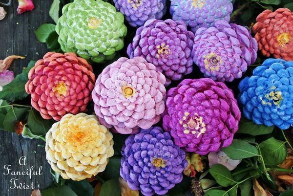 Pinhas pintadas(Foto: frame.bloglovin.com)