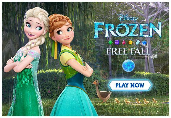 App Addiction : Frozen Free Fall (FREE) - http://www.dealiciousmom.com/frozen-free-fall-free/