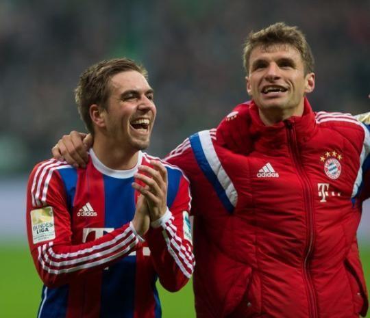 Götze and Müller #MiaSanMia