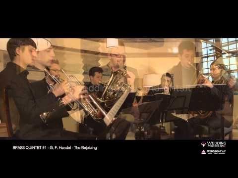 Brass Quintet #1 - The Rejoicing  http://weddingmusicandlights.it/