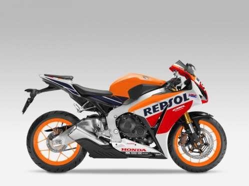 Com 999 cilindradas, a CBR 1000RR Fireblade da Honda atinge 178 cavalos de potência a 12.000 rpm e v... - Foto: Divulgação/Honda