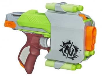 Nerf Zombie Strike Sidestrike com 4 Dardos - Hasbro