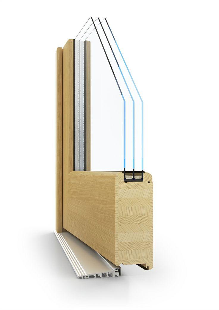 dřevěné vchodové dveře PROLINE | wood entry door PROLINE