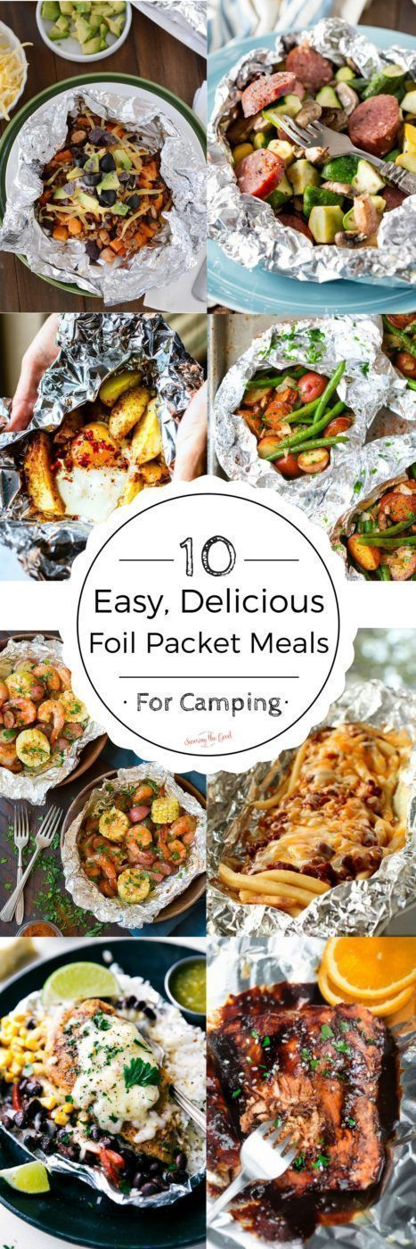 I love camping and I love to take foil packet meals with me. They are easy to prepare ahead of time, delicious and make for a simple supper while camping. Prepare them at home, cook on site, enjoy and clean up is a breeze!
