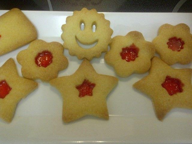 Galletas decoradas con caramelo