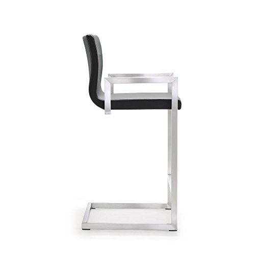 milano bar stool furniture village. milano gray stainless steel counter stool - set of 2 bar furniture village