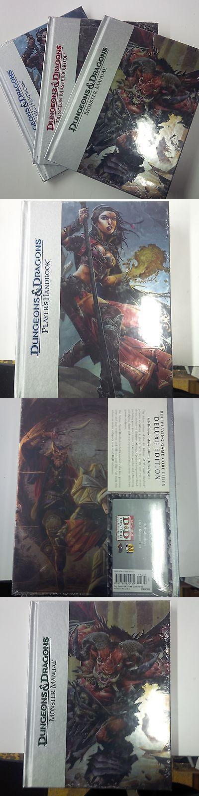 Other Dungeons and Dragons 2545: Dandd 4.0 4Th Edition Dlx Players Handbook, Monster Manual, Dmg All New In Shrink -> BUY IT NOW ONLY: $129.99 on eBay!