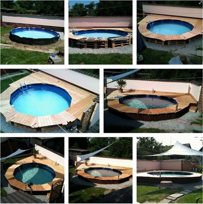 408 best gartendeko accessoires etc images on pinterest for Poolumrandung rund