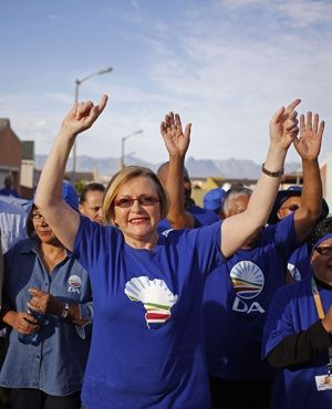 Helen Zille bows out as DA leader