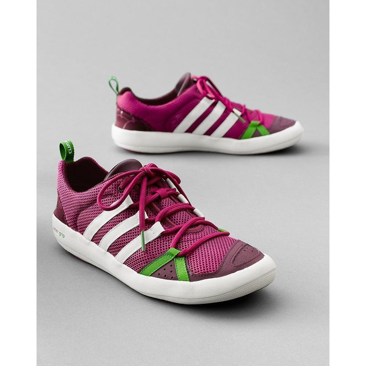 Women's Adidas® Boat Shoes, Hotpink...   $49.99