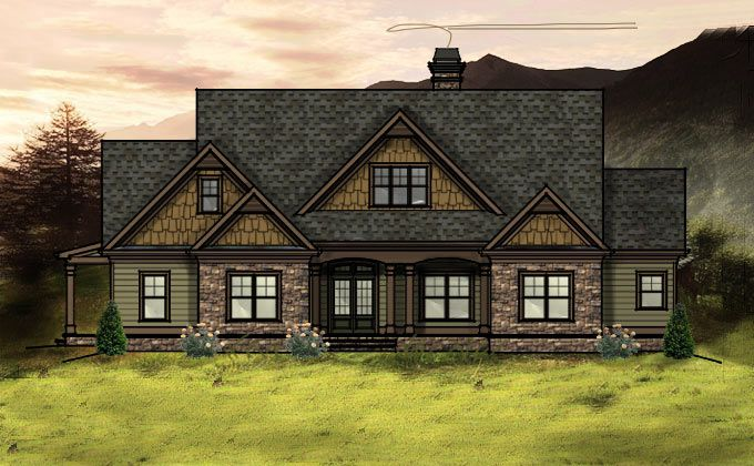 45 best floor plan images on pinterest home plans for Mountain lake house plans