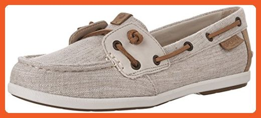 Sperry Top-Sider Women's Coil Ivy Canvas Boat Shoe, Oat, 9.5 US/US Size Conversion M US - Loafers and slip ons for women (*Amazon Partner-Link)