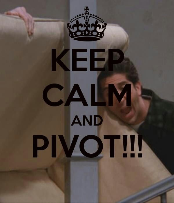 Moving day in the Minge house...PIVOT!