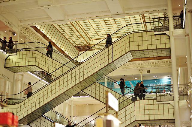 The iconic department store Le Bon Marché was the next stop: http://goo.gl/ecDxcK