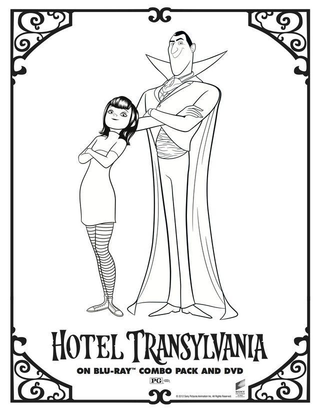 Hotel Transylvania Coloring Pages Best Coloring Pages For Kids Hotel Transylvania Coloring Pages Transylvania
