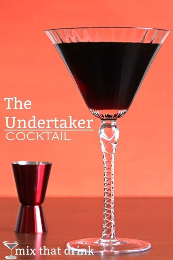 The Undertaker cocktail tastes like a mildly sweetened and flavored espresso served cold. The caffeine from the espresso can keep you from recognizing the alcohol, making this one of those stealth drinks that sneak up on you.