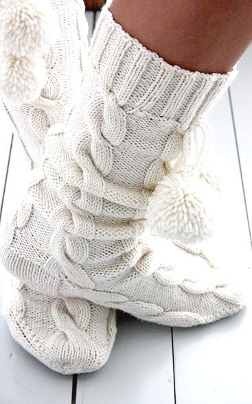 #White cashmere socks ❖Blanc❖ ❷ #Winter #photography