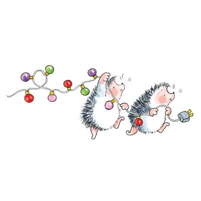 Christmas Hedgehogs Penny Black, Inc.