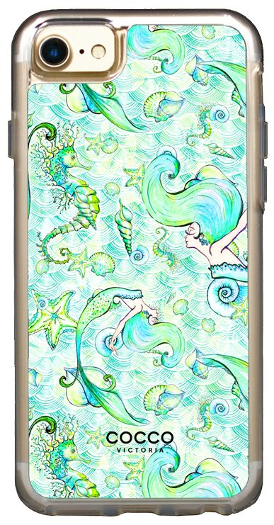 Mermaid Dance Vogue Case - iPhone 7/6S/6 - coccovictoria.com