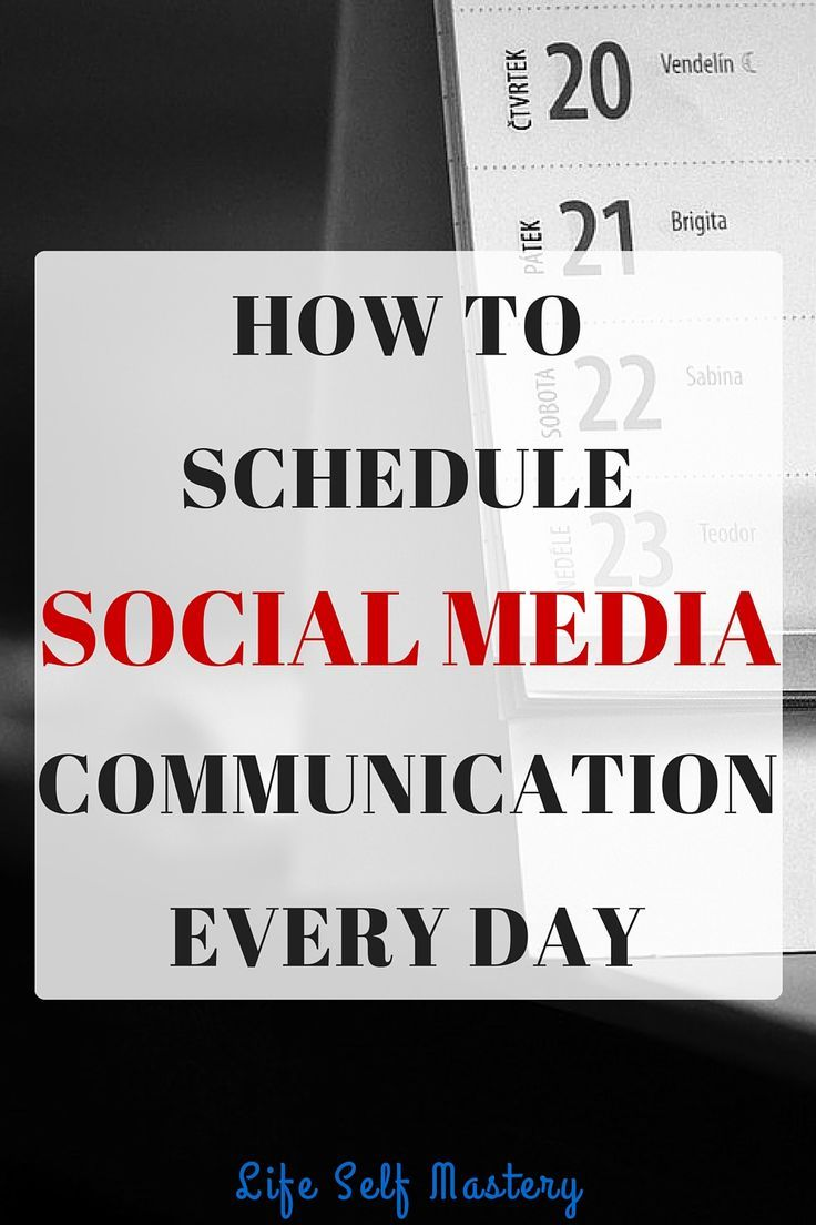 Consistency is the key to success to social media communication. Spend twenty minutes a day defining your strategy. Click through to find more about how to schedule your social media communication every day.
