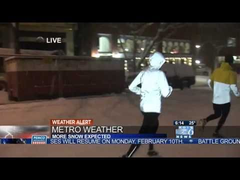 why you shouldn't run on snow!!! funny