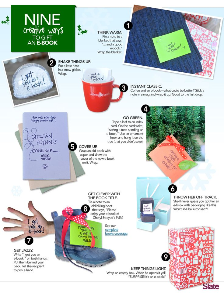 Ha! Funny ways to give an ebook! Perfect for #truthinthetinsel!