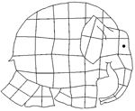 elmer elephant printable