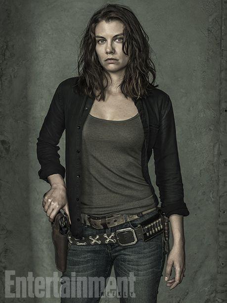 'The Walking Dead': Exclusive EW Portraits | Lauren Cohan | EW.com