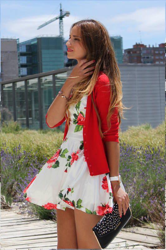 Loving this dress so summer!
