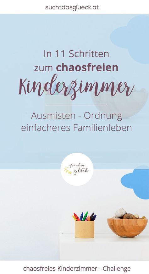 In elf Schritten zum chaosfreien Kinderzimmer - kein Chaos mehr, mehr Ordnung im Kinderzimmer, Kinderzimmer ausmisten - Fräulein im Glück der nachhaltige Mamablog