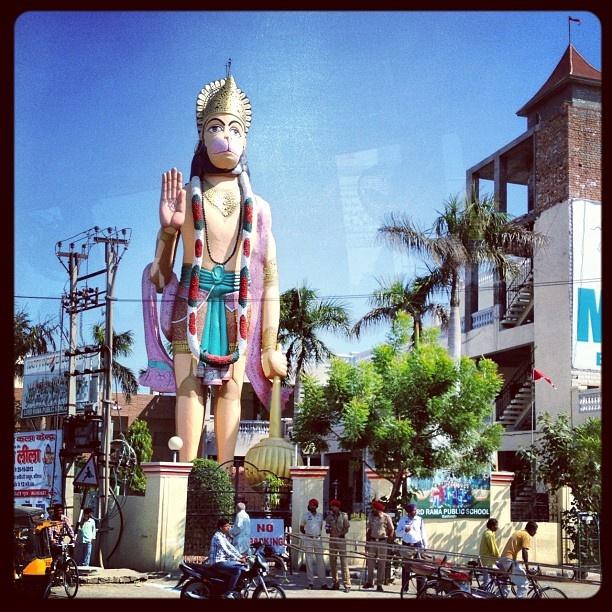 #love, #instagood, #cute, #photooftheday, #instamood, #iphonesia, #beautiful, #happy, #india, #niceview, #Indian, #travel, #traveller, #nature, #ashram, #guru, #maharaji, #yoga, #kriya, #ceremony, #penjab, #hanuman - @uexpert- #webstagram