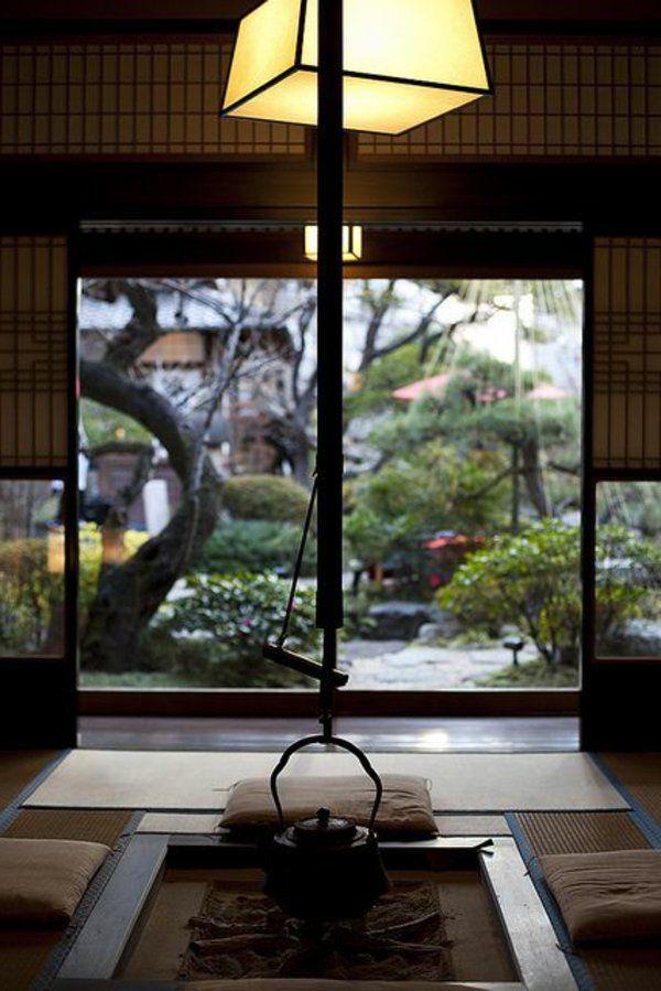 une chambre du thé japonais