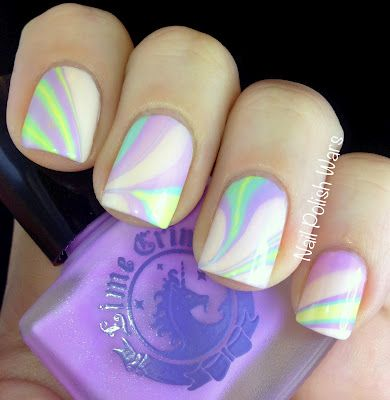 Lime Crime Water Marble