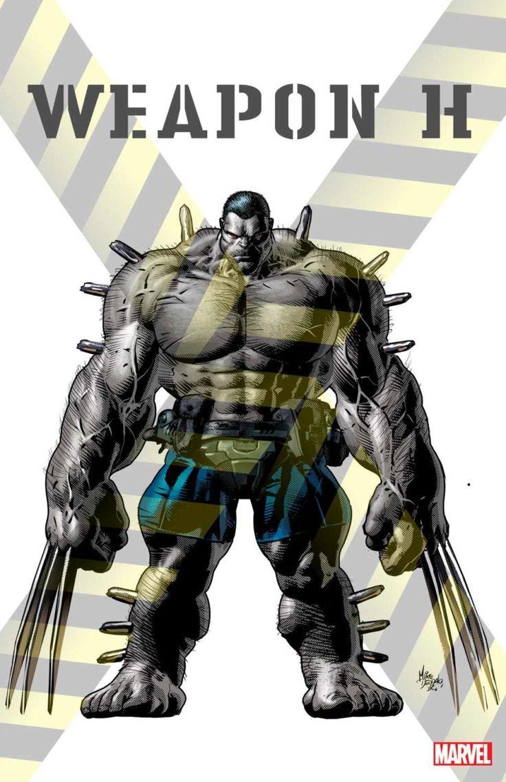 Marvel revela o visual do Arma H, mutante que mistura os poderes de Hulk e Wolverine.