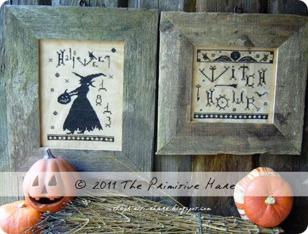 2 patterns in 1:  Witch Hour & Witch Queen