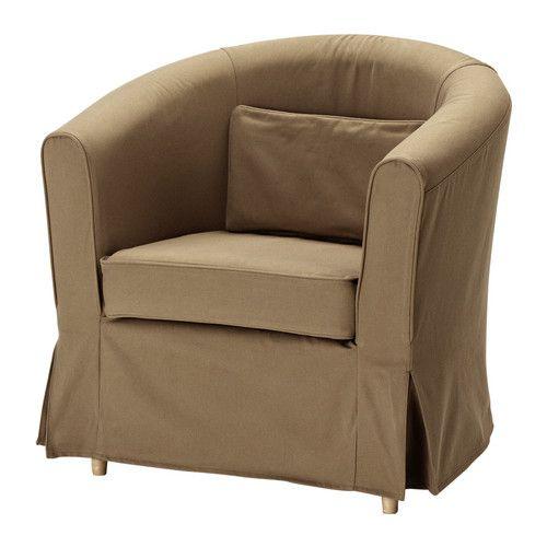 EKTORP TULLSTA Hoes fauteuil - Idemo lichtbruin - IKEA €40