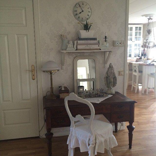 Shabby and Charme: Nordic Shabby e un tocco francese per una bella casa svedese