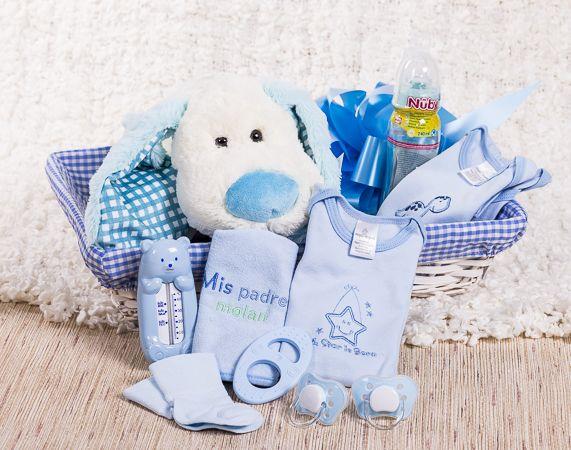 Set bebé azul. Regalo para nacimientos