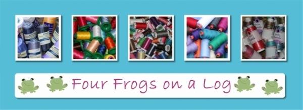 Four Frogs on a Log  Rasant threads and overlocker threads  OZ Handmade Buy & Sell Handmade~ open 24/7
