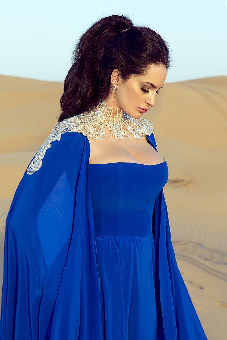 Sylwia Romaniuk Fashion Designer Desert Dubai Al Awir